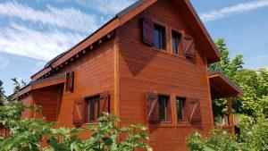mantenimiento exterior casas de madera