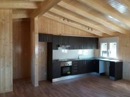 Cocinas de casas de madera Carbonell