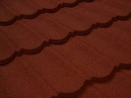 Cubierta ligera color terracota